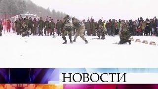 ВДень защитника Отечества повсей стране проходят праздничные концерты.