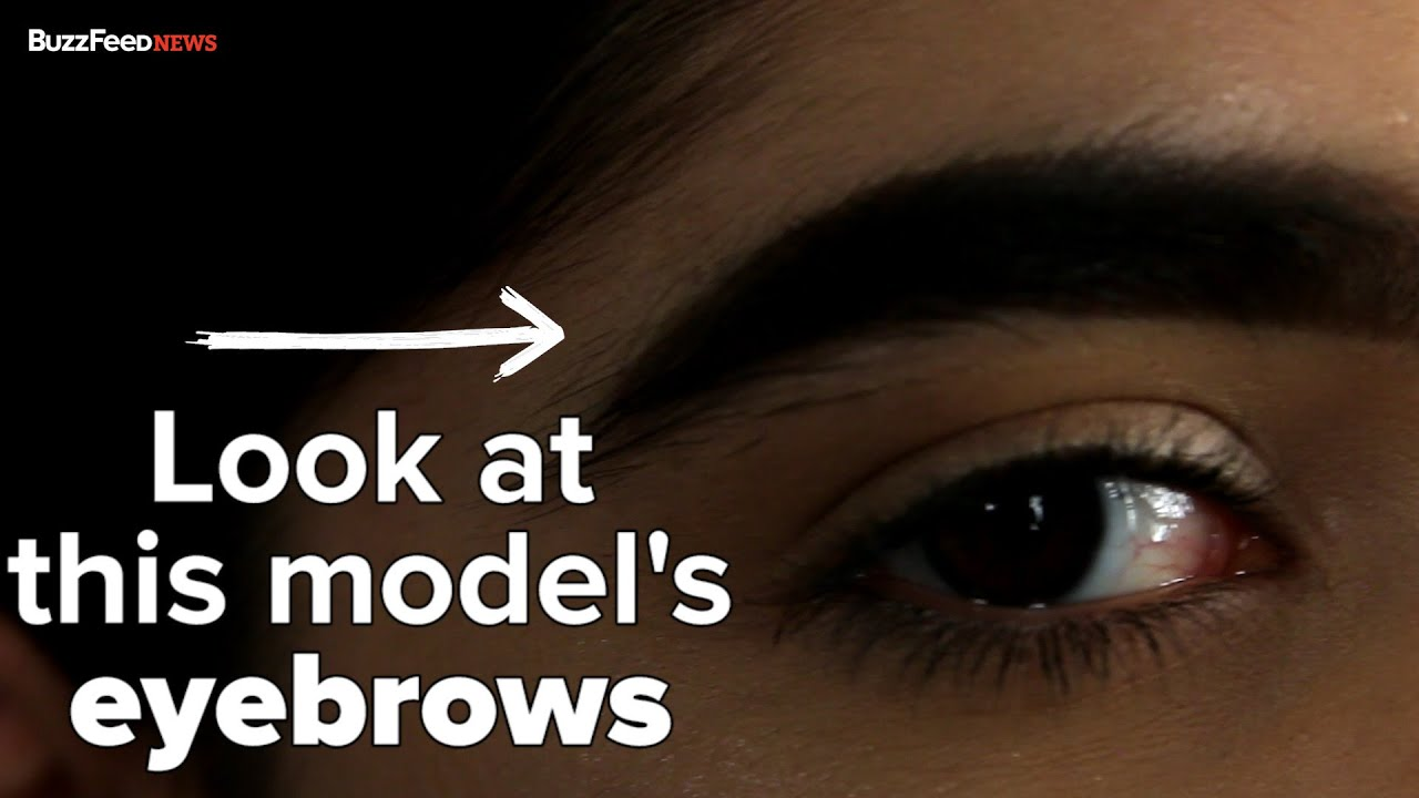 This Girls Eyebrows Made Her A Model Youtube