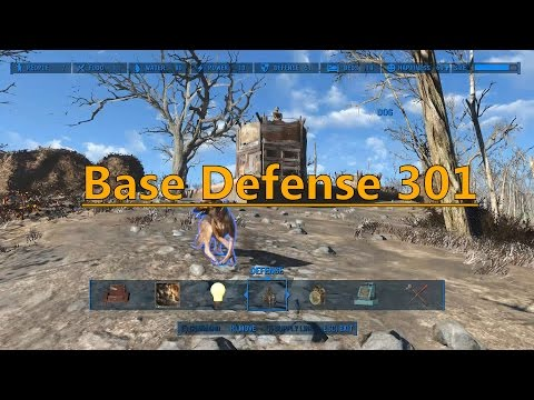How To Fallout 4: Base Defense 301