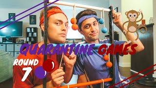 Monkey Ball or Ladder Ball? | Quarantine Games | Will and James