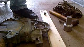 Timing Chain Timing Cover, W Pump Installation (Vid 4 of 8) - How To 302 5.0 Budget Rebuild