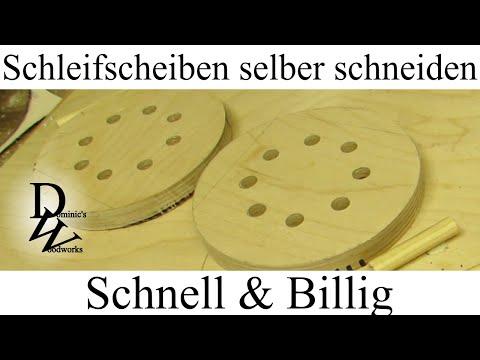 Schleifscheiben selber schneiden - Schnell & Billig