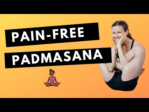 Padmasana: 3 Secrets To A Pain-Free Lotus Pose
