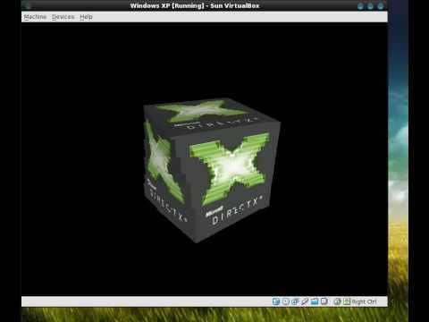 VirtualBox 3 - 3D Acceleration