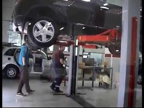 Отзыв Супер-СТО Смоленск – Рено Сандеро - YouTube