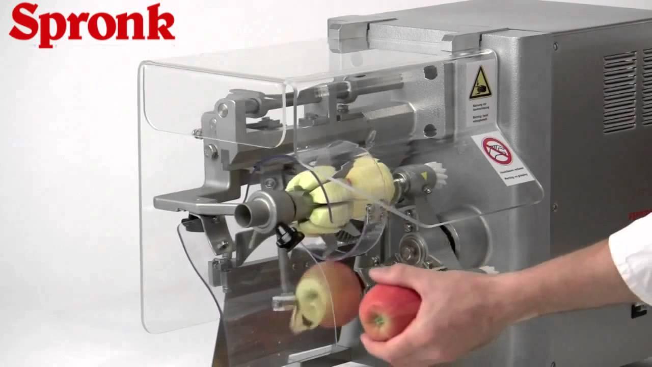 Automatische appelschilmachine