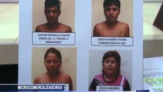 MICROCOMERCIALIZADORES: Cae clan familiar dedicado a la venta de droga - Antena Norte Noticias