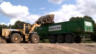 Klärschlamm Transport mit Krampe Big Body 900 und Fendt 936 Vario