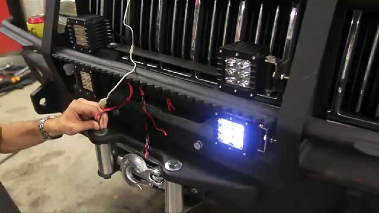 New Led S For The Zombie Jeep Bumper From Rough Country