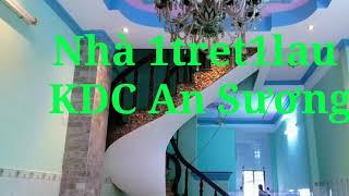 Nhà 4mx16m 1 tret1lau Đông Hưng Thuận Q12 giá 3 tỷ