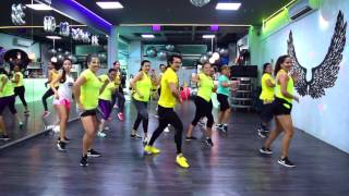 Mi Alma se Muere Remix - Fuego, Pitbull & Omega by Cesar James Zumba Cardio Extremo Cancun