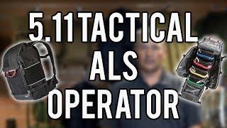 REVIEW MATERIEL : SAC 5.11 TACTICAL ALS OPERATOR