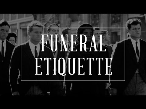 DJ Sama - Funeral Etiquette Guide - How To Behave, Dress Code + DO's & DON'Ts