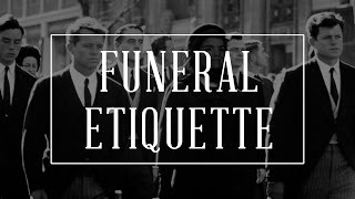 Funeral Etiquette Guide - How To Behave, Dress Code + DO's & DON'Ts