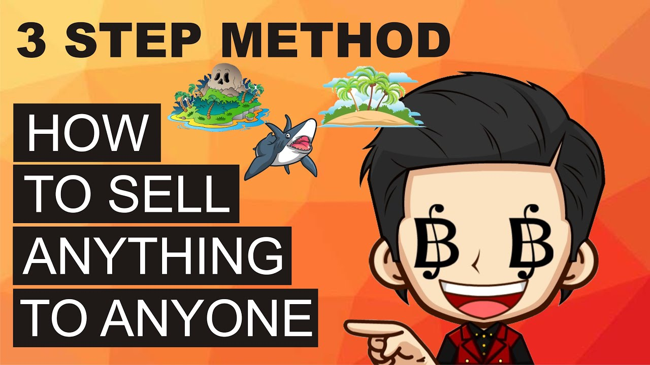 How To Sell Anything To Anyone - Heaven, Hell, Shark 3-Step Method