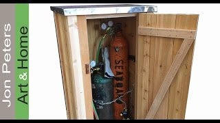 How to Make a Small Outdoor Tool Shed