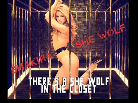 youtube shakira she wolf official song with lyrics
