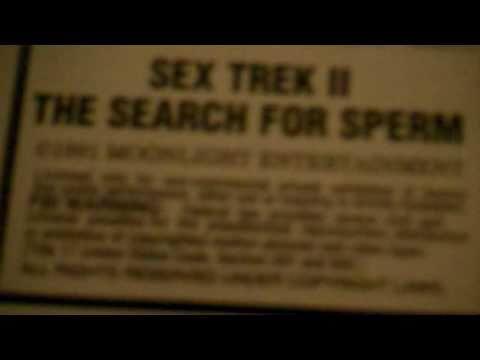Sex trek search for sperm