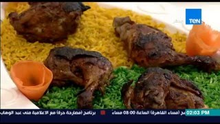 برنامج مطبخ 10/10 - الشيف أيمن عفيفي - الشيف حسن كمال - طريقة عمل الدجاج بالعسل الأسود