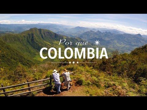 Por qué Colombia ? Why Colombia ? Pourquoi la Colombie ?