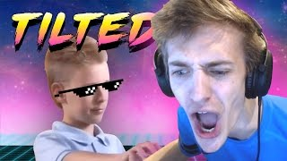 NINJA Epic Rage at Kid 😡