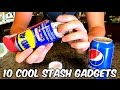10 Cool Stash Gadgets