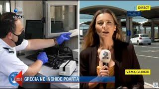 Stirile Kanal D(12.07.2020) - Grecia ne inchide poarta! Ce pot face turistii cu vacantele rezervate?
