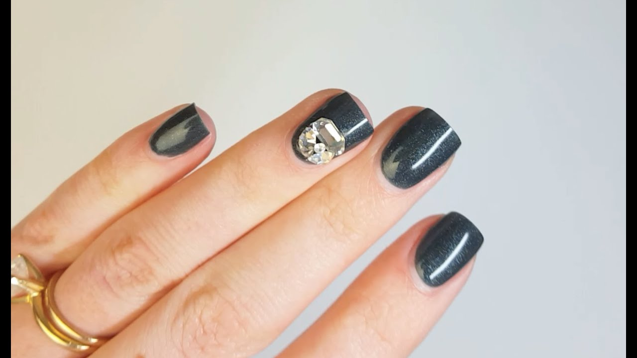 How To Remove 3D Nail Art and Swarovski Clusters