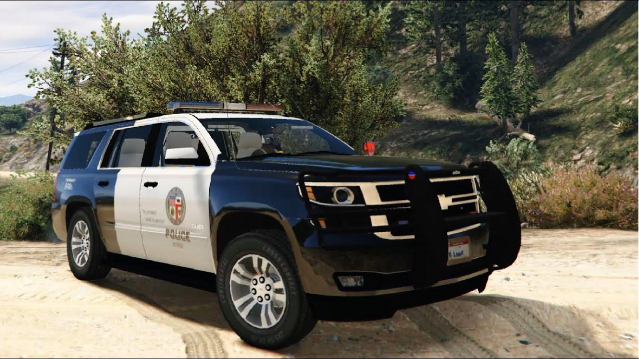 2015 Chevrolet Tahoe LAPD - GTA V - YouTube