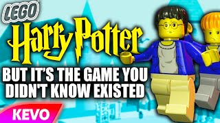 Lego Harry Potter but it's the game you never knew existed