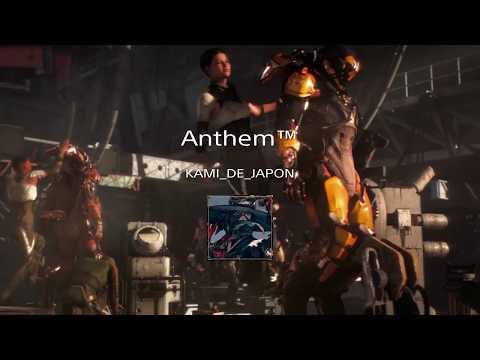 [ANTHEM /PS4]オープンベータ少しだけ紹介(ゲーム内英語表記)