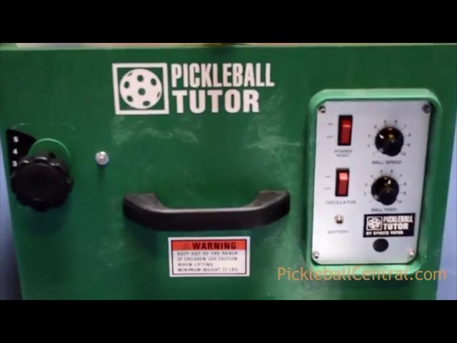 Pickleball Tutor Ball Machine Review