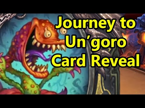 Rating the Journey to Un'Goro Hearthstone Cards (Based on Fun)