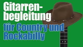 Gitarre Country Rockabilly Begleitung: Chet Atkins Style