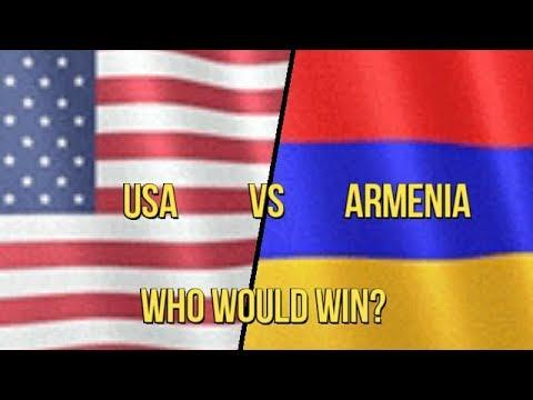 USA vs Armenia Military Comparison