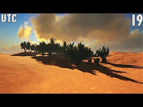 Ark Uncharted! Exploring the WIP Desert Region :: Ragnarok Explorers Club :: Ep. 19