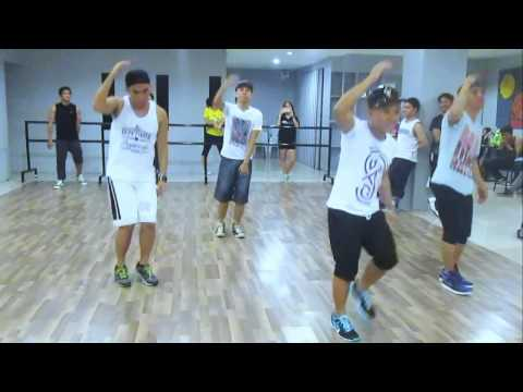 Get Up Rattle choreography