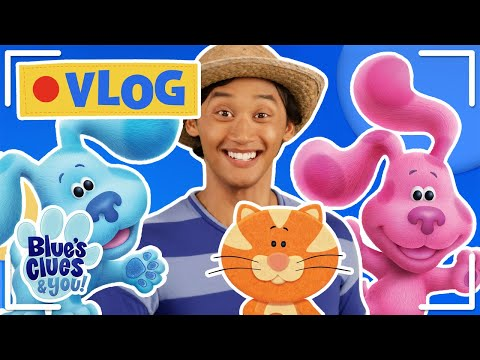 Garden Sing Along, Touring School & Mailtime | Josh & Blue's VLOG Ep. 3 | Blue's Clues & You!