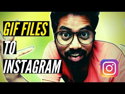 How To Post A Gif On Instagram (best Apps)😍😍