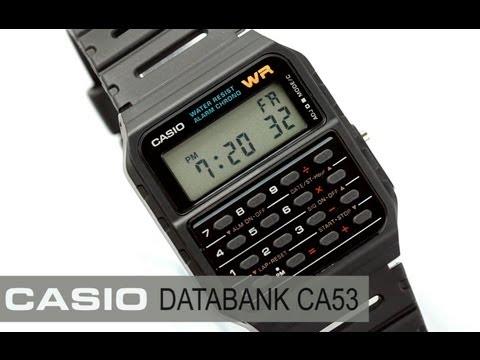 Reloj Casio Databank CA53W - www.CompraFacil.mx