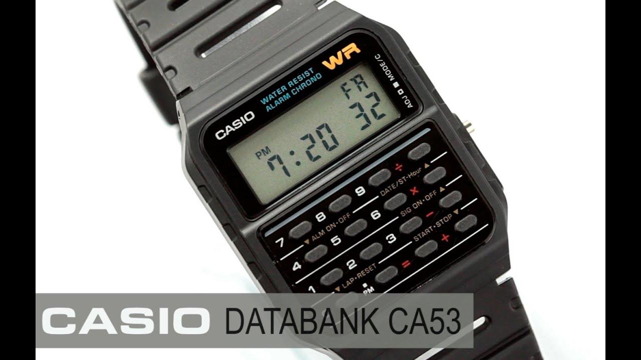 a399b8e2d36c Reloj Casio Databank CA53W - www.CompraFacil.mx - YouTube