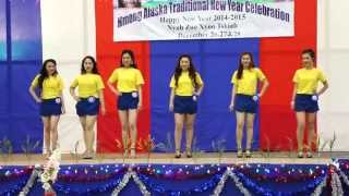 Alaska Miss Hmong Pageant Modern Dance 2014-2015