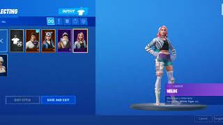 Showing u guys my fortnite skins. I just started so yh