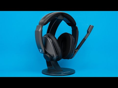 Sennheiser GSP 370 - Hands-on with the new Wireless Gaming Headset