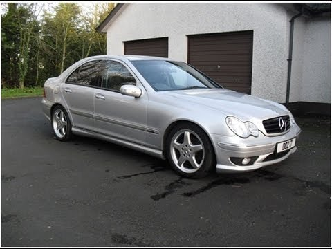 mercedes c class w203 walk around hd youtube. Black Bedroom Furniture Sets. Home Design Ideas