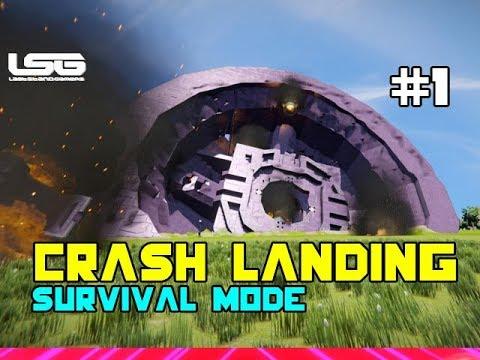 Space Engineers - Crash Landing The Return (CW) - Part 1