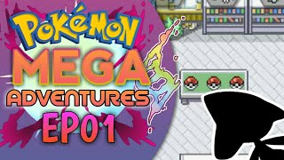 LEGENDARY STARTER ... | Pokemon Mega Adventures Randomized EP01 In Hindi