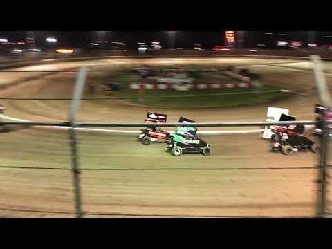 Delta Speedway Turkey Bowl 10/26/18 Jr Sprint Heat 2 Ty