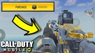 Buying the M4LMG - BLACK GOLD! Call of Duty Mobile Multiplayer Gameplay | CoD Mobile
