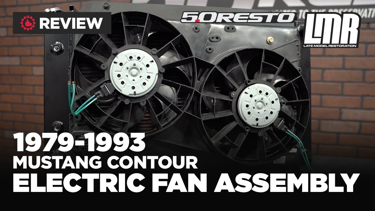 Fox Body Mustang Contour Electric Fan Assembly - Review